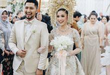 Minang Reception of Luthya & Kiki by  Menara Mandiri by IKK Wedding (ex. Plaza Bapindo)