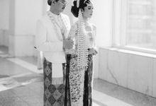 Javanese Akad of Kanya & Bintang by  Menara Mandiri by IKK Wedding (ex. Plaza Bapindo)