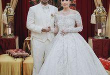 Shamilla & Daniel Reception by  Menara Mandiri by IKK Wedding (ex. Plaza Bapindo)