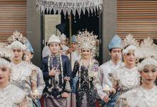 Palembangnese Reception of Adri & Keziah by  Menara Mandiri by IKK Wedding (ex. Plaza Bapindo)