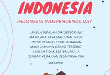 Dirgahayu Indonesia ❤ Happy Independence Day by Gorgeous Bridal Jakarta