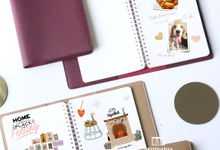 Notebook for Sarah & Rahmat by Arumanis Gift