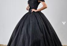 Prewedding in black by Wedding Island