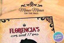 Vintage Gothic Snow White Invitation for Ms Florencia by Scissor & Glue