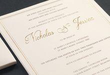 NICHOLAS AND JESSICA by Vinas Invitation