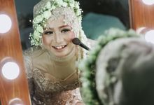 Titik & Fredy by Captured Photography