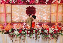 Engagement Sherly & Khendy by POSH DECORATION