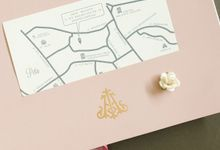 Ika & Ahadi by Meltiq Invitation