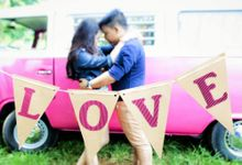 Junji & Cherry || Save The Date by You and Me Weddings by Basty's Balloons