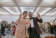 The Wedding of  Andrey & Medina by  Menara Mandiri by IKK Wedding (ex. Plaza Bapindo)