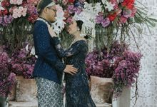 The Wedding of Putty & Fickri by  Menara Mandiri by IKK Wedding (ex. Plaza Bapindo)