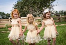 D Liles Collection Flower girl dresses by D. Liles Collection