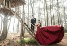 Prewedding of Lia by iLook ( Makeup & Couture )