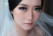 Wedding Make-up for Eirenne by Rere Hou Make-Up Art