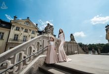 Evening dresses by Emabride