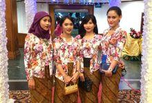 Bridesmaids for Metha & Reza Wedding by Dalisha Kebaya