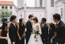 KEEFE & CHARLOTTE ACTUAL DAY by Chijmes Hall by Watabe Singapore Pte Ltd