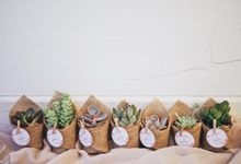 Wedding Favours by The Bloomish Eden