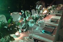 Nature Gala dinner with balinese dancer and Balawan by Sweetbella Florist & Decoration