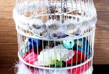 Wedding Gift Box Bird Cage by AQANOs Craft