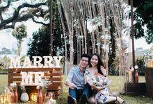 Ruben & Samantha - Garden Proposal by Lily & Co.