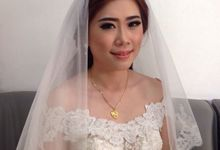 Makeup for Ms Selly Holy Matrimony by Lidya Lee Makeup