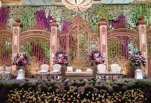 Wedding Reception of Festus & Jessica by Lumens Indonesia