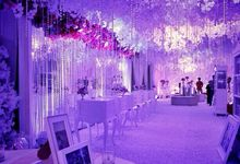 Wedding Reception of Jimmy & Deviana by Lumens Indonesia