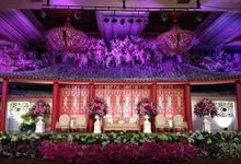 Wedding Reception of Budi & Felice by Lumens Indonesia