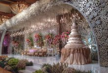 Wedding Reception of Kevin & Grace by Lumens Indonesia