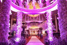 Wedding Reception of Jeffrey & Olivia by Lumens Indonesia