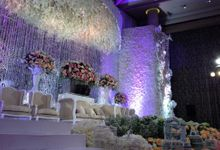 Wedding Reception of Jeffrey & Olivia by Lumens Indonesia