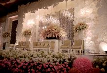 Wedding Reception of Alvin & Jennifer by Lumens Indonesia