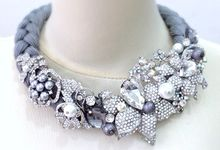 Necklace by Christine Soepadhi by Necklace by Christine Soepadhi