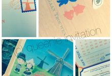 Love in Holland by Queenie Invitation