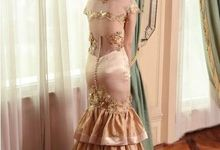 Rent gown by Selviana Gaby Fashion Designer