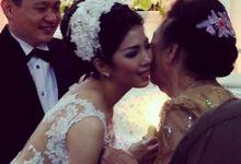Vinilia & Anton Wedding by Tommy Figo