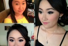 Before-after by Lina Gunawan MakeUpArtist