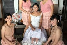 Wedding Makeup & Hairdo by Sandra MUA The Bright Salon and Bridal