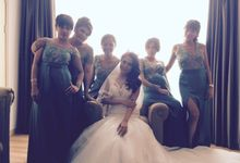 Wedding day of Johan & Bertha by Serenity wedding organizer
