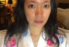 Wedding makeup for Sisca by Emily Surjo Makeup Artist
