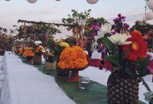 Tropical wedding by Ruschic Decor