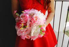 Wedding handbouquet by Le Fleur Bouquet
