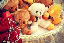 Okta Vina Wedding Day by Serenity wedding organizer
