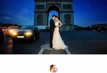 Pre wedding photo session in Paris by Oceanlove Studio