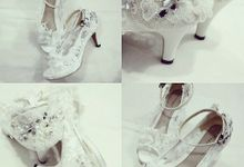 bride shoes by Wedding shoes by Biondi