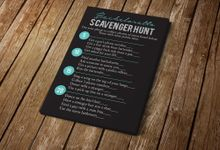 Bachelorette Scavenger Hunt by Blue Line Design