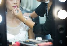 Bridal makeup for asian bride by Endrye MakeupArt