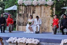 Rustic wedding ENGGAR dan HENNY by raindropsdeco
