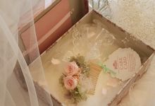Bridesmaid gift by La Belle Juliette